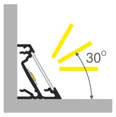 Profili in alluminio per strisce led barre led online su for Vendita led online