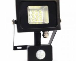 faro led 10w con sensore vt-4810 pir