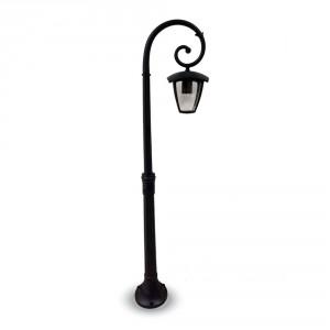 lampione led da giardino a una lampada