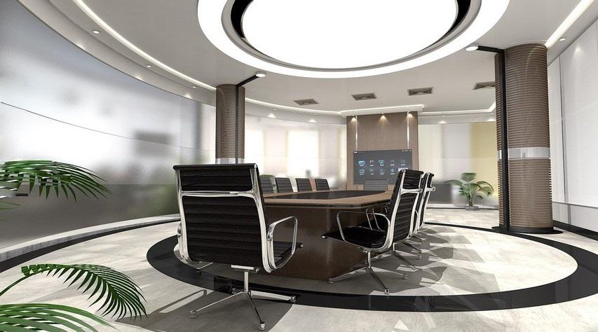 illuminazione per l'ufficio