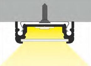 angolo di illuminazione profilo led surface14