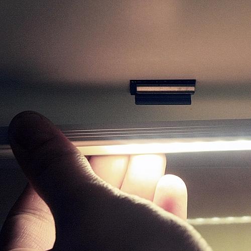 Applicazione profilo led 10 mm