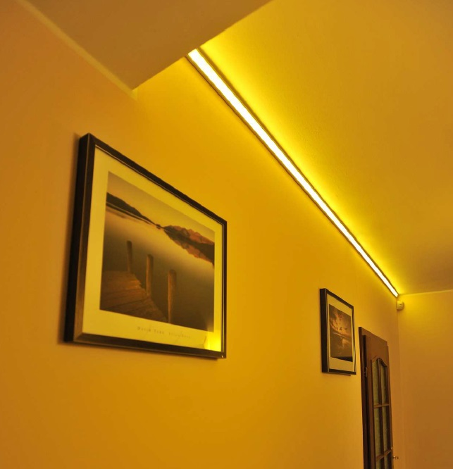Strisce led per illuminazione vh52 regardsdefemmes - Strisce led illuminazione casa ...