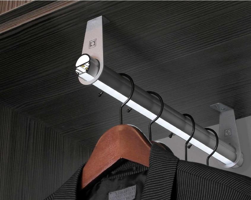 Neon Per Cabina Armadio : Profilo led tondo per armadi oval vendita illuminazione