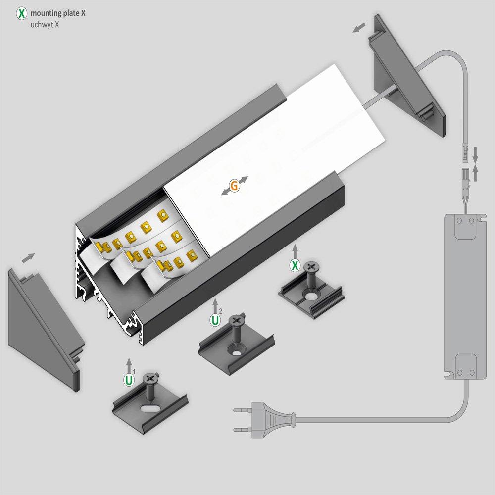 Come montare strisce led id es de design d 39 int rieur for Led a strisce