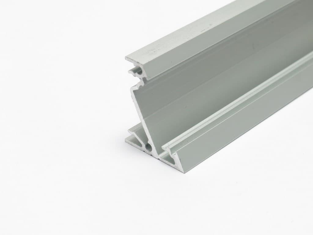 Profilo Angolare Alluminio Per Strisce Led Corner14 Kit