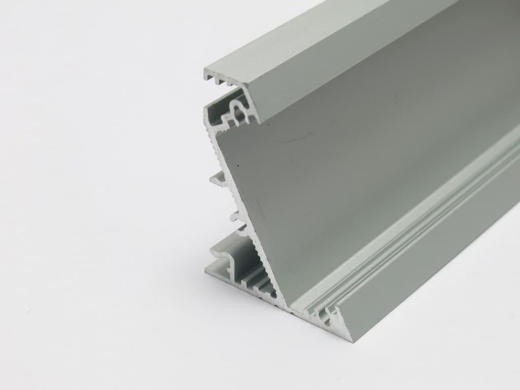 Strisce Led Per Cartongesso profilo angolare per strisce led corner27 + kit montaggio
