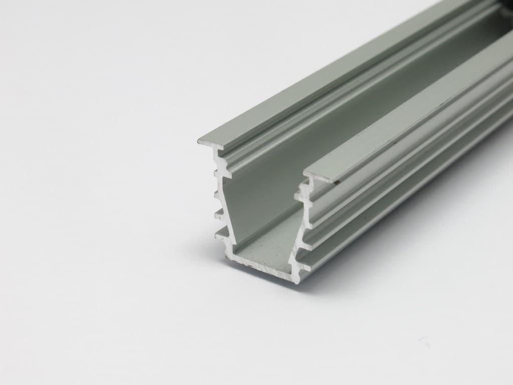 Profilo led in alluminio da incasso