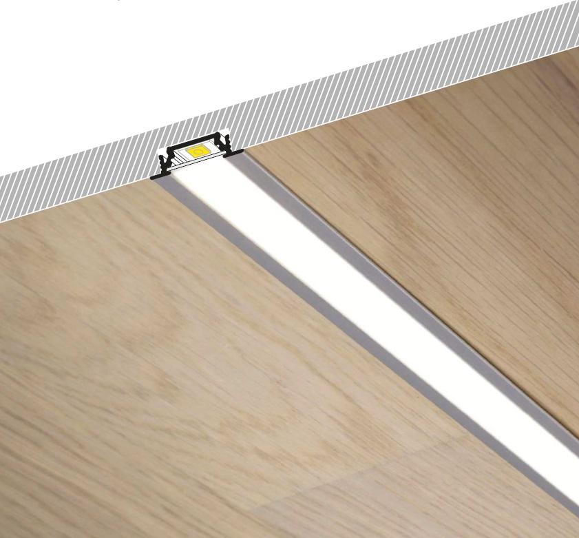Profilo led da soffitto GROOVE | Vendita Illuminazione