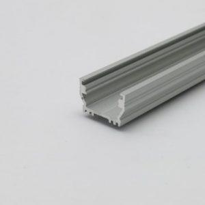 profilo led piatto alluminio