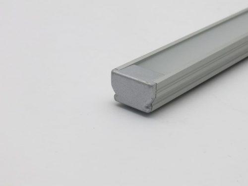 Profilo piatto alluminio terminale