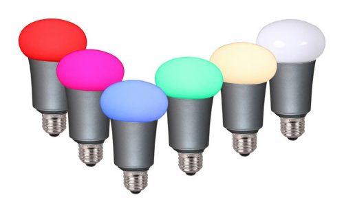 lampada led che cambia colore