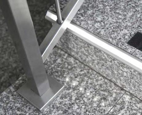 applicazione profilo led gradini step