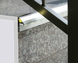 barra led per gradini step