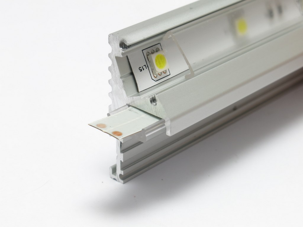 Profilo led per gradini metri vendita illuminazione