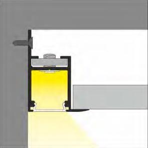 direzione della luce profilo led frame14