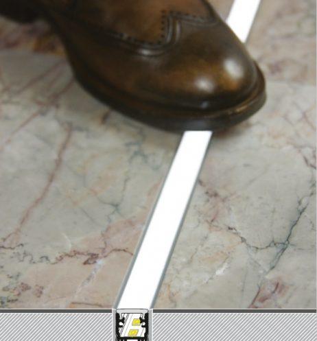 Profilo led calpestabile pavimento