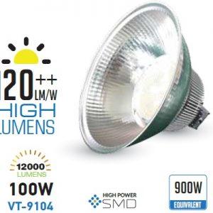 lampada industriale led 100w