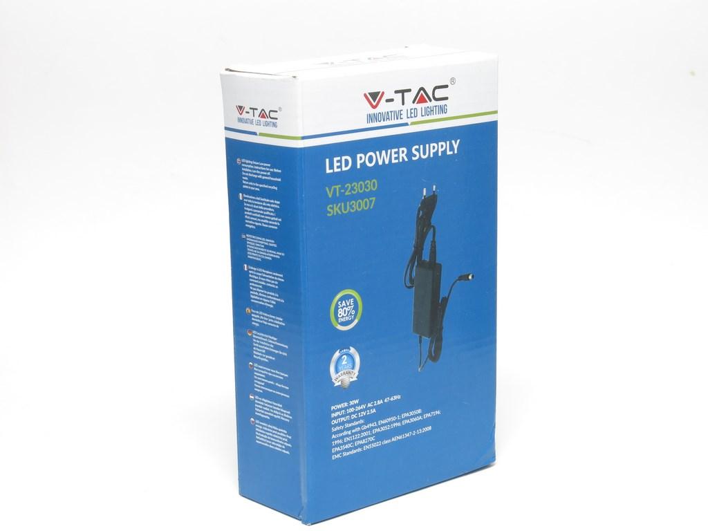 alimentatore led 30w v-tac vt-23030 | vendita illuminazione