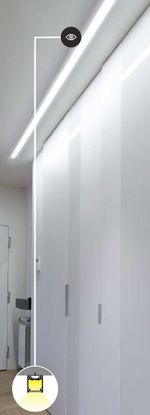 Barra led soffitto casamia idea di immagine - Barra led bagno ...