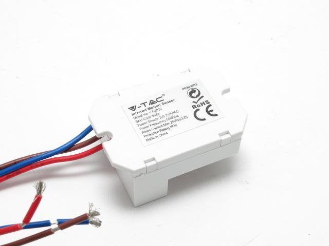 Rilevatore Di Presenza Per Accensione Luci.Sensore Di Movimento Per Luci Interne V Tac Vt 8022 Vendita