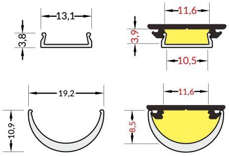 dimensioni cover arc12