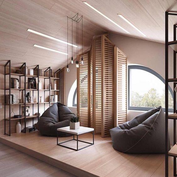 Illuminazione della mansarda con led idee e soluzioni for Illuminazione sottotetto legno