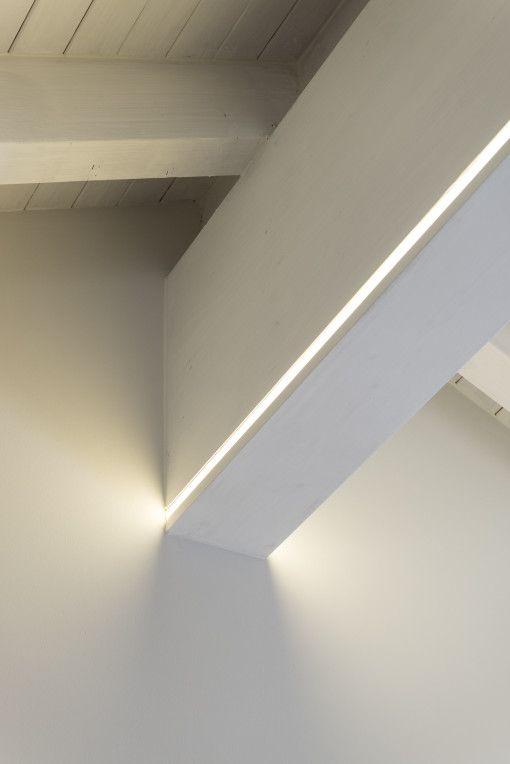 Illuminazione della mansarda con led idee e soluzioni for Illuminazione led a soffitto