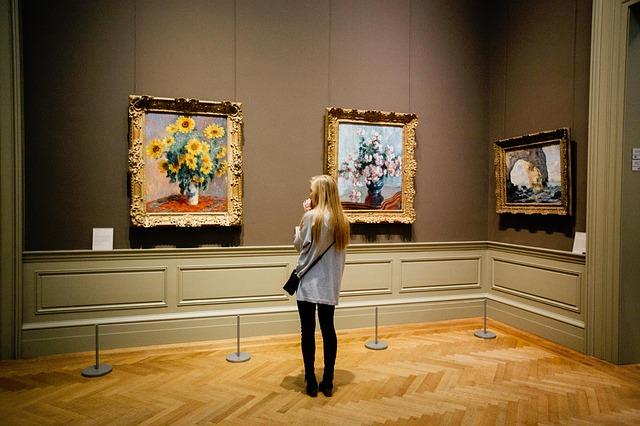 illuminazione quadri museo