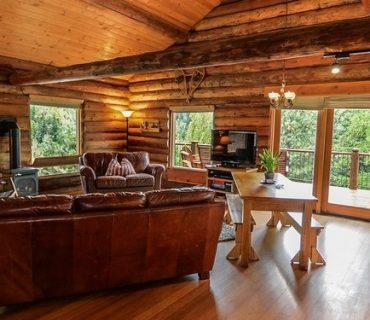 illuminazione di un tetto in legno
