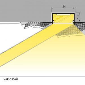 Profili Led Da Incasso In Alluminio Acquista Su Vendita Illuminazione