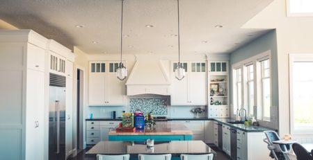illuminazione tavolo cucina