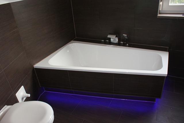 Strisce led per la doccia e la vasca vendita illuminazione