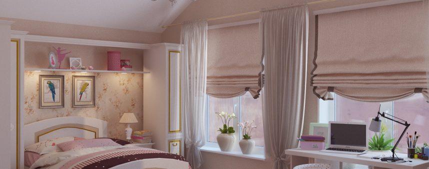 L'illuminazione della stanza da letto dei più piccoli
