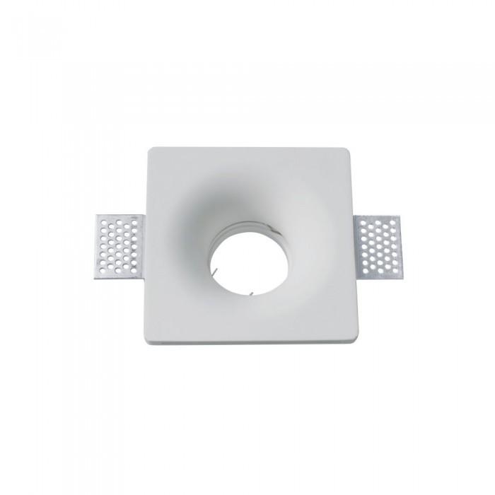 V-TAC VT-776 faretto in gesso LED da Incasso Quadrato GU10 – SKU 3641