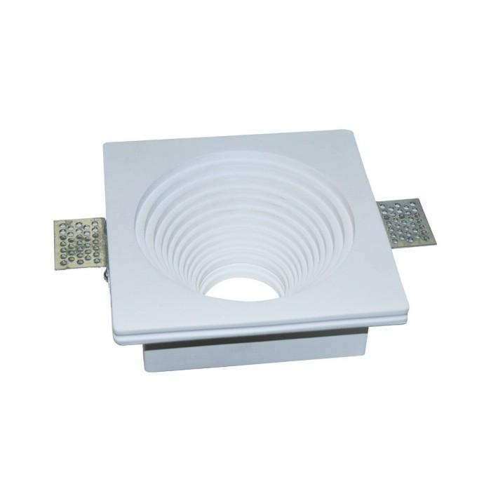 V-TAC VT-867 Portafaretto in gesso LED da Incasso Rotondointerno scalettato – SKU 3152