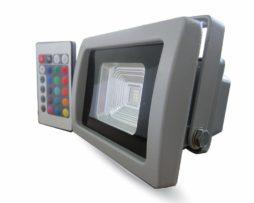 Faretto a LED 10W Multicolore RGB con telecomando VT-4711IF