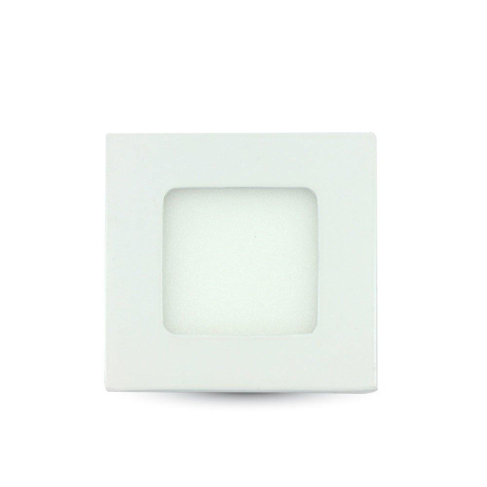 Mini Pannello LED VT-307 Montaggio a Incasso Quadrato