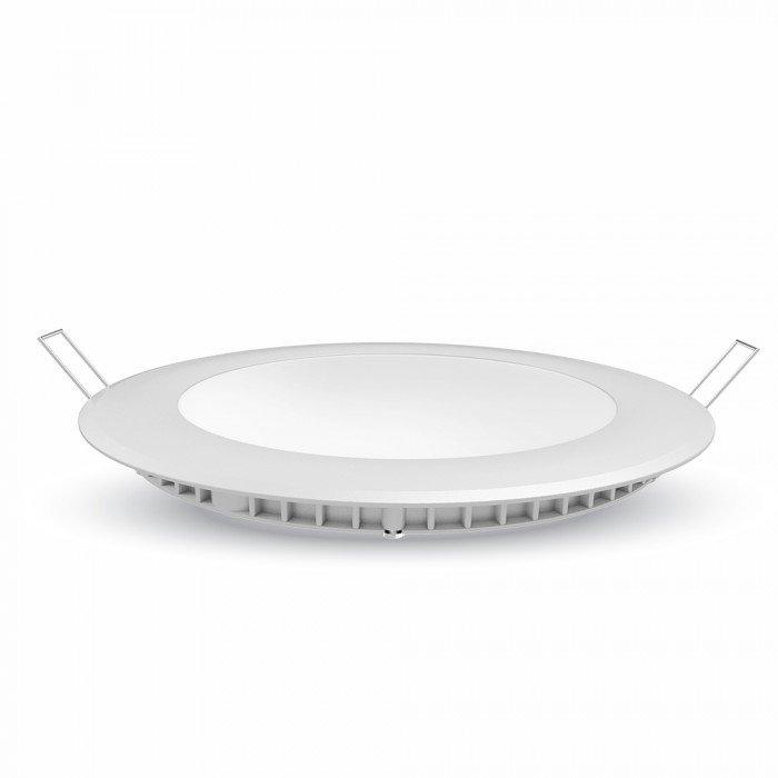Mini Pannello LED VT-3107 Montaggio a Incasso Rotondo