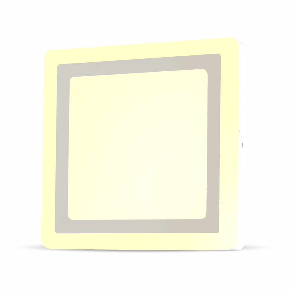 Pannello a doppio LED quadrato VT-1509SQ