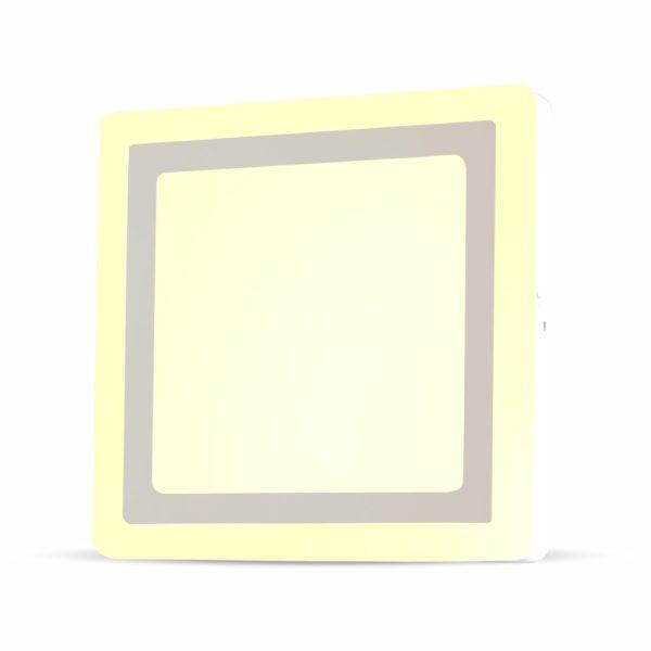 Pannello a doppio LED quadrato VT-2209SQ