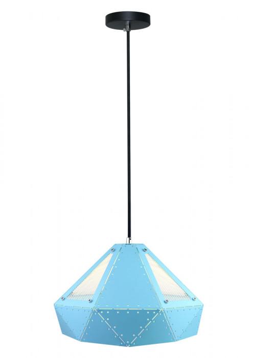 VT-7310-B Lampadario LED a Prisma in Metallo con Portalampada E27