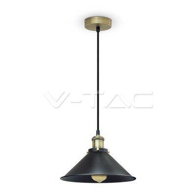 VT-7424 Lampadario LED a Campana in Metallo con Portalampada E27