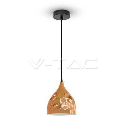 VT-8170 Lampadario LED a Goccia in Metallo con Portalampada E27