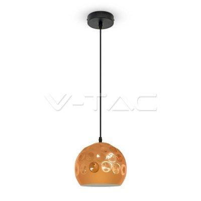 VT-8200 Lampadario LED a Sfera in Metallo con Portalampada E27