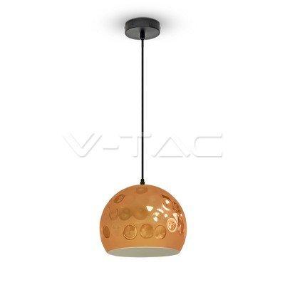 VT-8250 Lampadario LED a Sfera in Metallo con Portalampada E27