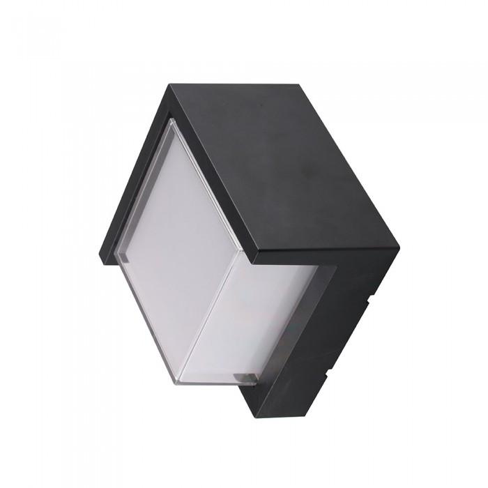 VT-831 Lampada LED da Muro Quadrata 6W nero 3000k