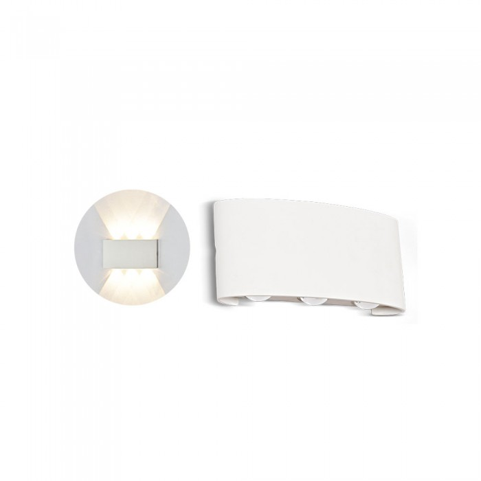 VT-846 Applique LED da Muro 6W bianco