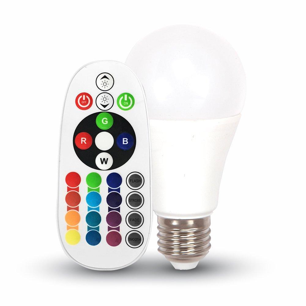 lampadina smart con telecomando RGB VT-2022