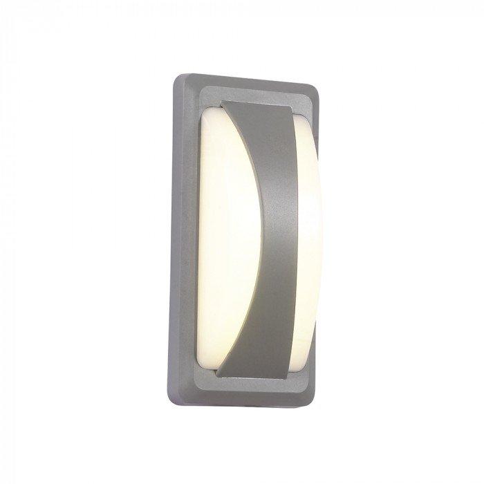 VT-8058 Lampada LED da Muro Rettangolare 12W Colore Grigio
